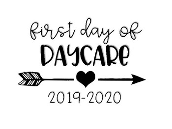 2019-2020 First Day of School Photo Signs by Wonders of