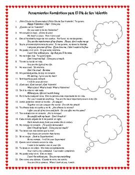 25 romantic spanish sayings