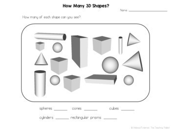 2D & 3D Shapes Unit for Grade 1 (Ontario Curriculum) by