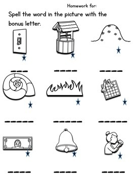 2nd Edition Homework Pack 1st Grade No Prep by Momma with