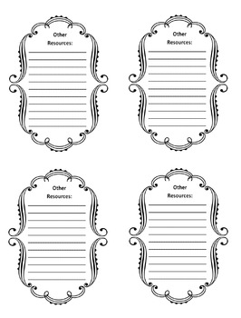 2nd Grade Common Core File Labels by When Inspiration