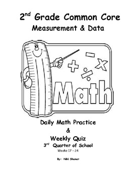 2nd Grade Common Core Math for Measurement and Data by