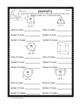 2nd Grade Common Core Standards Math Assessments Freebie