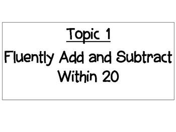 2nd Grade Envision 2.0 Math Objectives by That Fun Teacher