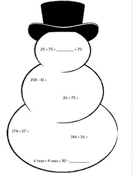 2nd Grade Eureka Math Module 4 Christmas / Holiday