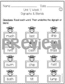 2nd Grade FUNdamentally Differentiated Word Work