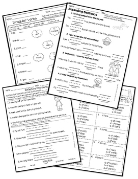 2nd Grade Language Arts Test Prep Review by The Buzzing
