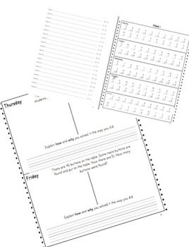 2nd Grade Math Fluency and Application Workbook **FULL