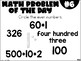 2nd Grade Math Problem of the Day (4th Nine Weeks) by