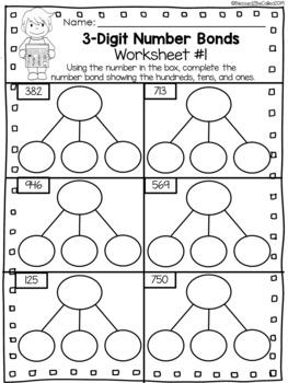 2nd Grade Module 3 Lesson 5 Supplemental Worksheets