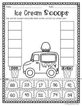 {2nd Grade} NO STRESS Summer Pack, Math & Literacy, End of