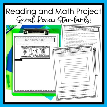 2nd Grade Project-Based Learning: Class Pet Project by