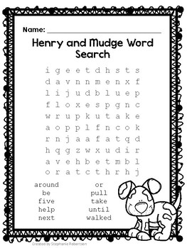 2nd Grade Word Searches with High Frequency Words-Journeys