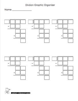 3-Digit by 1-Digit Long Division Riddles with a Graphic