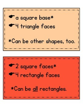 3 dimensional geometric shapes