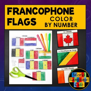 french speaking countries flags