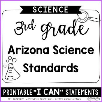 3rd Grade Arizona Science
