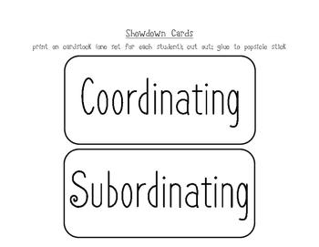 3rd Grade CCSS ELA Language & Grammar: Conjunctions Mini