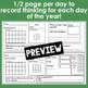 3rd Grade Calendar Math Student Journal Bundle from August