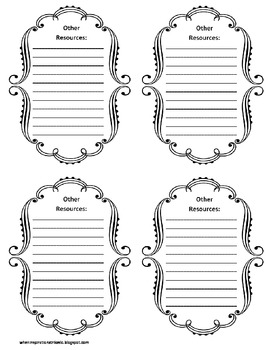 3rd Grade Common Core File Labels by When Inspiration