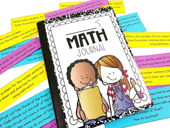 3rd Grade Common Core Math Journal with 100 Prompts by Not