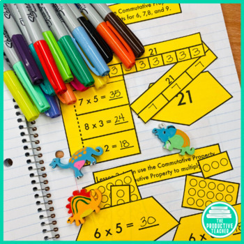 Engage New York Math Aligned Interactive Notebook: Grade 3