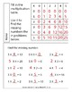 3rd Grade Math Multiplication Worksheet Packet with