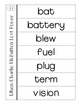 3rd Grade Reading Street Vocabulary Interactive Notebook