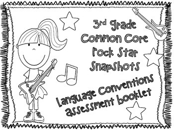 3rd Grade Rock Star Snapshots 3.L.a-i: All 9 Language
