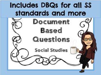 3rd Grade Social Studies Document Based Questions by