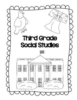 3rd Grade Social Studies Interactive Notebook by