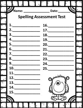 3rd Grade Spelling Program 35 Weeks of Differentiated