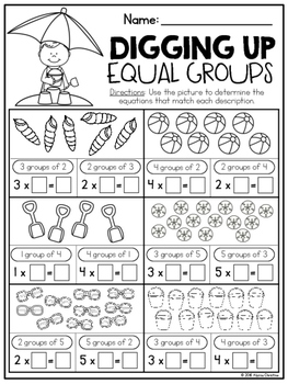 3rd Grade Summer Math Review by Teach by Alyssa Christine