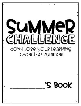 3rd Grade Summer Slide Packet by Upper Elementary
