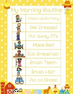 farm themed daily routine charts preschool rd grade activity also rh teacherspayteachers