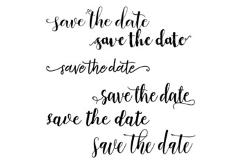 43 Save The Date clipart, Photoshop Clipart Overlay