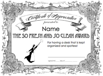 48 Fun and Academic End of Year Award Certificates by