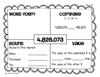4 Nbt 1 Worksheets First Grade. 4. Best Free Printable