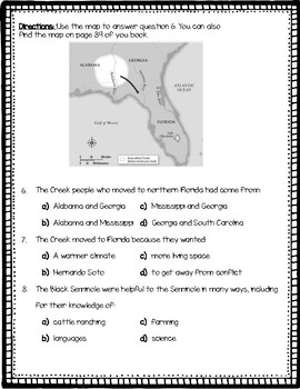 4th Grade McGraw Hill FLORIDA SOCIAL STUDIES Florida