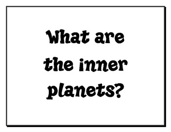 4th Grade Science Essential Questions UPDATED by Teaching