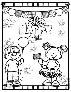 4th of July Coloring Pages #fireworks2020 by Under