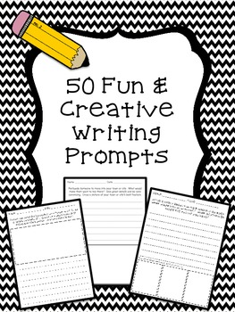 50 Fun and Creative Writing Prompts in Different Writing