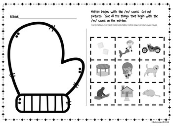 Winter Clothing Unit for Pre-K and Kindergarten by Kathy