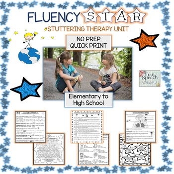 50% off new post! FLUENCY STAR STUTTERING THERAPY UNIT: NO