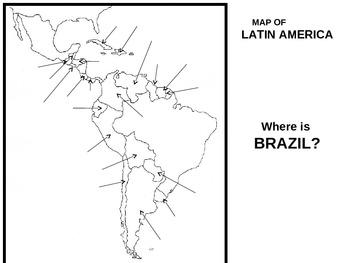 WORLD UNIT 9 LESSON 7. Latin America MAP ACTIVITY
