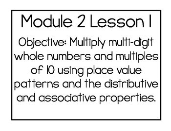 5th Grade Engage NY & Eureka Math Module 2 Part 2: LESSONS