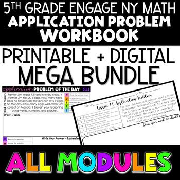 5th Grade Engage NY Eureka Math ALL Module Application