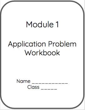 5th Grade Eureka Math Application Problems Module 1 by