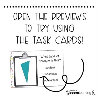 5th Grade Measurement & Geometry Boom Task Cards Bundle by