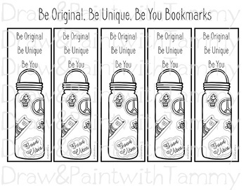 16 Printable Bookmark Sheets with Inspiring Words
